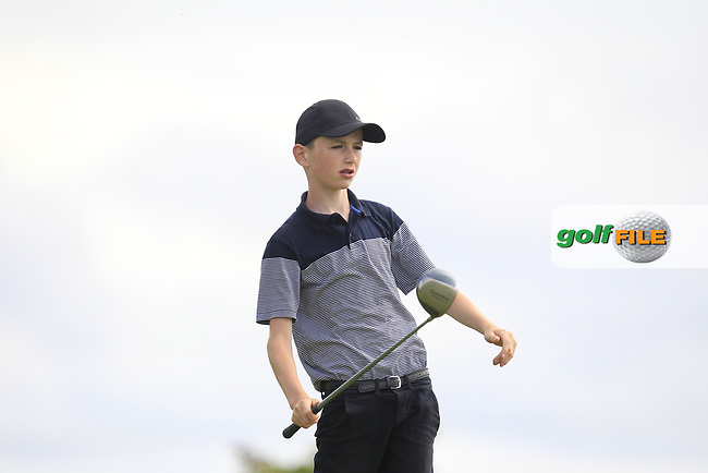 Cormac Dillon (Oughterard) on the 2nd tee during the GOLFSTYLE Connacht Close Finals  at Loughrea Golf Club, Loughrea, Co Galway. 14/08/2017<br /> Picture: Golffile | Thos Caffrey<br /> <br /> All photo usage must carry mandatory copyright credit     (&copy; Golffile | Thos Caffrey)