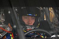 Mar 31, 2007; Martinsville, VA, USA; Nascar Nextel Cup Series driver Kyle Busch (5) during practice for the Goody's Cool Orange 500 at Martinsville Speedway. Martinsville marks the second race for the new car of tomorrow. Mandatory Credit: Mark J. Rebilas