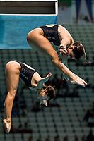 BODDINGTON Shaye, CUI Elizabeth NZL<br /> Diving <br /> Women's 3m Synchro Springboard Preliminary<br /> Day 04 17/07/2017 <br /> XVII FINA World Championships Aquatics<br /> Duna Arena Budapest Hungary July 15th - 30th 2017 <br /> Photo @A.Masini/Deepbluemedia/Insidefoto