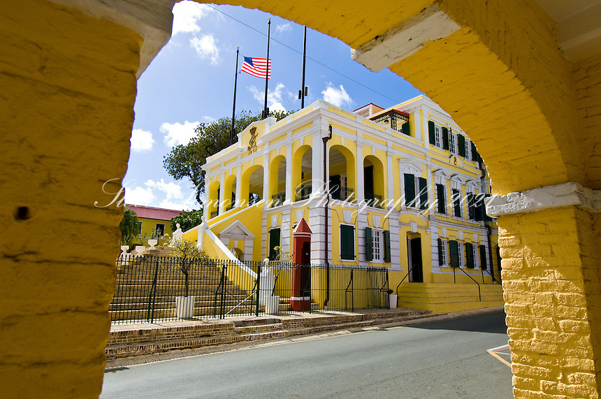 Government House<br /> Christiansted, St. Croix<br /> US Virgin Islands