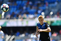 SAN JOSE, CA - JUNE 8: Tommy Thompson #22 during a game between FC Dallas and San Jose Earthquakes at Avaya Stadium on June 8, 2019 in San Jose, California.