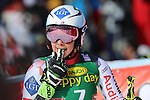 ALPINE SKI WORLD CUP OPENING. Ladies Giant Slalom in Solden on October 22, 2016. Switzerland's Lara Gut wins ahead of Mikaela Shiffrin and Italy's Marta Bassino.