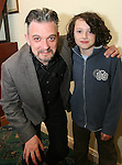 """Comedian Joe Rooney with Danny Rooney at """"Who Wants to be a Thousandaire"""" in aid of Le Cheile School at the Boyne Valley Hotel...Photo NEWSFILE/Jenny Matthews.(Photo credit should read Jenny Matthews/NEWSFILE)....This Picture has been sent you under the condtions enclosed by:.Newsfile Ltd..The Studio,.Millmount Abbey,.Drogheda,.Co Meath..Ireland..Tel: +353(0)41-9871240.Fax: +353(0)41-9871260.GSM: +353(0)86-2500958.email: pictures@newsfile.ie.www.newsfile.ie.FTP: 193.120.102.198."""