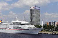 "Kreuzfahrtschiff ""Europa"" in Riga, Lettland, Europa"