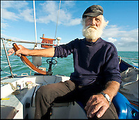 BNPS.co.uk (01202 558833)<br /> Pic: RachelAdams/BNPS<br /> <br /> Ivor Charles on his boat Humdinger in Weymouth harbour. <br /> <br /> Lights, camera, plankton!<br /> <br /> A crew of fishermen are enjoying unlikely sideline careers as actors in blockbuster films - thanks to their salty sea dog looks.<br /> <br /> The gang's craggy features, big beards and wild hair have helped them bag roles alongside Hollywood A-listers such as Johnny Depp and Charlize Theron.<br /> <br /> As many as 12 weather-beaten fishermen from Weymouth, Dorset, have found success on the big screen since signing up with a casting agency.<br /> <br /> And thanks to their authentic appearances they are regularly snapped by film producers wanting to make nautical scenes more realistic.