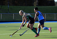 Action from the Auckland Hockey winter intercity women's premier match between Takapuna and Howick Pakuranga at Lloyd Ellesmore Park in Auckland, New Zealand on Saturday, 9 June 2018. Photo: Dave Lintott / lintottphoto.co.nz