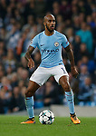 Fabian Delph of Manchester City during the Champions League Group F match at the Emirates Stadium, Manchester. Picture date: September 26th 2017. Picture credit should read: Andrew Yates/Sportimage