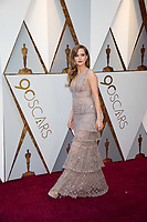 Zoey Deutch arrives on the red carpet of The 90th Oscars&reg; at the Dolby&reg; Theatre in Hollywood, CA on Sunday, March 4, 2018.<br /> *Editorial Use Only*<br /> CAP/PLF/AMPAS<br /> Supplied by Capital Pictures