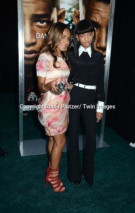 """Jada Pinkett Smith and Willow Smith attend the Domestic Premiere of """"After Earth""""  on May 29, 2013 at the Ziegfeld Theatre in New York City."""
