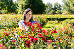 2016 Rose of Tralee Maggie McEldowney at Tralee town park on Wednesday morning.