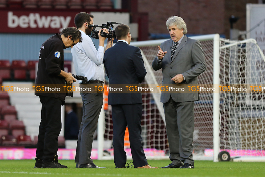 One of the Boys of 86, Phil Parkes, discusses his career with the West Ham media team pre-match during West Ham United vs Newcastle United