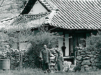 Mönch in Chonju, Korea 1986