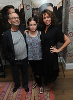 """NEW YORK, NY - August 15 :  Joel Grey, Stella Grey and Jennifer Grey attends the New York screening for """" A )Tale of Love and Darkness"""" on august 15, 2016 at the Crosby Hotel in New York City.  Photo Credit:John Palmer/ MediaPunch"""