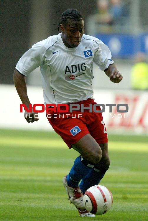 UI-Cup Rueckspiel ( R&not;łckspiel )<br /> <br /> Hamburger SV vs FC Thun<br /> <br /> Aktion Emile Mpenza<br /> <br /> Foto &not;&copy; nordphoto - Anja Heinemann<br /> <br /> <br /> <br /> <br /> <br /> <br /> <br />  *** Local Caption *** Foto ist honorarpflichtig! zzgl. gesetzl. MwSt.<br /> <br /> <br /> <br /> Belegexemplar erforderlich<br /> <br /> <br /> <br /> Adresse: nordphoto<br /> <br /> <br /> <br /> Georg-Reinke-Strasse 1<br /> <br /> <br /> <br /> 49377 Vechta