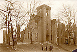 Southern School of Photography after the Jan. 4, 1928 fire.