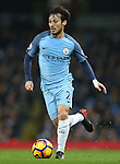 David Silva of Manchester City during the English Premier League match at the Etihad Stadium, Manchester. Picture date: December 18th, 2016. Picture credit should read: Simon Bellis/Sportimage