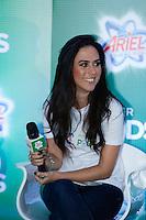 SAO PAULO, SP, 25 DE JULHO DE 2013. EVENTO P&G - ARIEL.A atriz Tata Werneck  durante o lançamento do  novo produto da P&G, Ariel Power Pods, na manhã desta quinta feira (25), no Hotel Tivoli, na região central da capital paulista.  Ariel Power Pods é um sabão em pó em cápsulas para maquina de lavar. FOTO ADRIANA SPACA/BRAZIL PHOTO PRESS