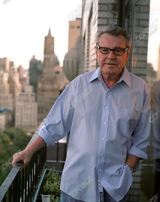 Milos Forman, director. New York, New York, October 2006.