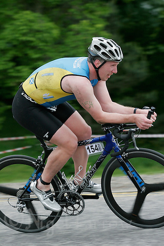 27 MAY 2007 - MOTHERWELL, UK - Kenny Girvan - British Sprint Triathlon Championships. (PHOTO (C) NIGEL FARROW)
