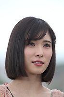 Mayu Matsuoka attends the photocall for 'Shoplifters (Manbiki Kazoku)' during the 71st annual Cannes Film Festival at Palais des Festivals on May 14, 2018 in Cannes, France.<br /> CAP/GOL<br /> &copy;GOL/Capital Pictures