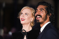 "Nicole Kidman and Dev Patel<br /> at the London Film Festival 2016 premiere of ""Lion"" at the Odeon Leicester Square, London.<br /> <br /> <br /> ©Ash Knotek  D3176  12/10/2016"