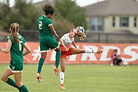 SAN ANTONIO, TX - SEPTEMBER 8, 2019: The University of South Florida Bulls defeat the University of Texas at San Antonio Roadrunners 5-0 at the Park West Athletics Complex. (Photo by Jeff Huehn)