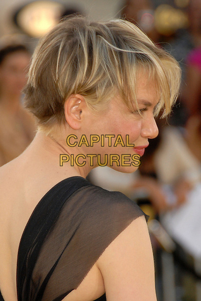 "RENEE ZELLWEGER.""Bee Movie"" Los Angeles Premiere at Mann's Village Theatre, Westwood, California, USA..October 28th, 2007.headshot portrait cropped hair profile.CAP/ADM/BP.©Byron Purvis/AdMedia/Capital Pictures."