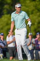 Ian Poulter (GBR) watches his tee shot on 12 during 1st round of the 100th PGA Championship at Bellerive Country Club, St. Louis, Missouri. 8/9/2018.<br /> Picture: Golffile | Ken Murray<br /> <br /> All photo usage must carry mandatory copyright credit (© Golffile | Ken Murray)
