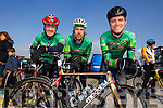 Team MODA Endurance at the Lacey Cup l-r: Roy Madden, Mark Nolan, Denis Dunworth at the Lacey cup cycle race in Tralee on Sunday.