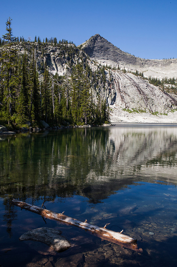 Harrison Lake in Northern Idaho is nestled in the Selkirk range and provides the hiker with a remote trip into the subalpine.