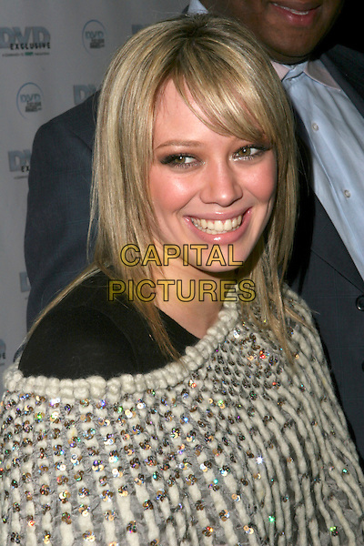 HILARY DUFF.DVD Exclusive Awards 2005 held at the California Science Centre, Los Angeles, California , USA, 08 February 2005..portrait headshot.Ref: ADM.www.capitalpictures.com.sales@capitalpictures.com.©Zach Lipp/AdMedia/Capital Pictures .