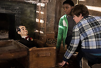 Goosebumps 2: Haunted Halloween (2018) <br /> Jeremy Ray Taylor &amp; Caleel Harris<br /> *Filmstill - Editorial Use Only*<br /> CAP/MFS<br /> Image supplied by Capital Pictures