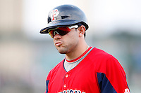 July 22, 2009:  Sean Danielson of the Pawtucket Red Sox during a game at Frontier Field in Rochester, NY.  Pawtucket is the Triple-A International League affiliate of the Boston Red Sox.  Photo By Mike Janes/Four Seam Images