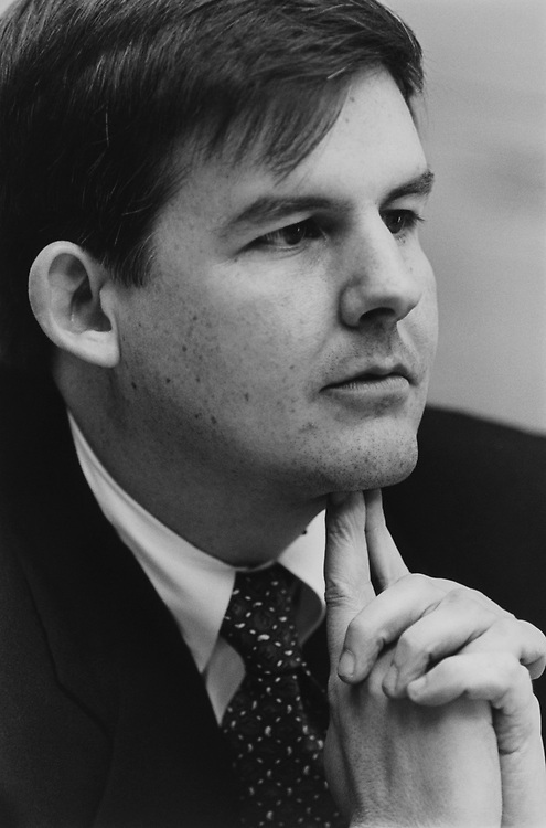 Lawyer Charles A. Blanchard from Arizona in March 1994. (Photo by Laura Patterson/CQ Roll Call via Getty Images)