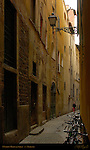 Narrow Medieval Street Florence