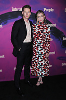 13 May 2019 - New York, New York - Josh Dallas and Melissa Roxburgh at the Entertainment Weekly & People New York Upfronts Celebration at Union Park in Flat Iron.   <br /> CAP/ADM/LJ<br /> ©LJ/ADM/Capital Pictures