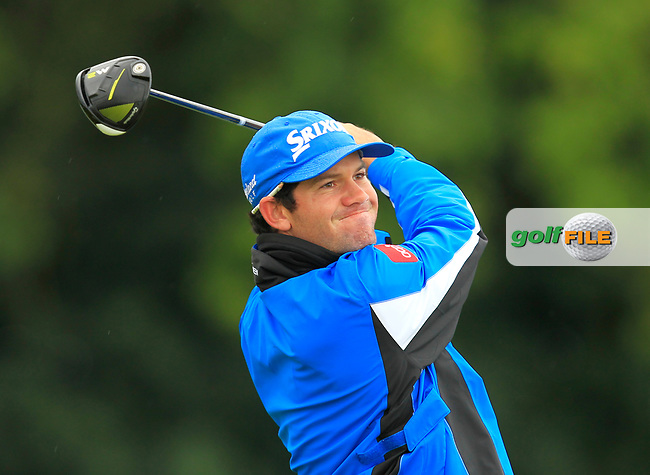 Ricardo Gouveia (POR) on the 5th tee during Round 1 of the KLM Open 2017 at the Dutch in the Netherlands. 14/09/2017<br /> Picture: Golffile   Thos Caffrey<br /> <br /> <br /> All photo usage must carry mandatory copyright credit     (&copy; Golffile   Thos Caffrey)