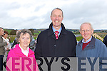 Mary Quinn, Cormac O'Mahony and Terence Quinn at the Castleisland By-pass opening on Friday.
