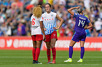 Bridgeview, IL - Saturday July 22, 2017: Katie Naughton during a regular season National Women's Soccer League (NWSL) match between the Chicago Red Stars and the Orlando Pride at Toyota Park. The Red Stars won 2-1.