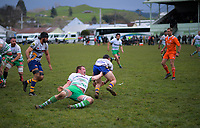 Manawatu v Bay Of Plenty spell of the Game of Three Halves pre-season rugby match at Taihape Domain in Taihape, New Zealand on Friday, 27 July 2018. Photo: Dave Lintott / lintottphoto.co.nz
