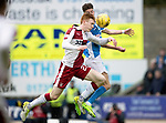 St Johnstone v RangersÖ21.05.17     SPFL    McDiarmid Park<br /> David Bates and Greg Hurst<br /> Picture by Graeme Hart.<br /> Copyright Perthshire Picture Agency<br /> Tel: 01738 623350  Mobile: 07990 594431