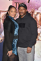 Danielle Isaie and Ashley Walters<br /> 'The Nutcracker and the Four Realms' European Film Premiere at Westfield, London, England  on November 01,  2018.<br /> CAP/PL<br /> &copy;Phil Loftus/Capital Pictures