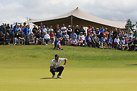 Romain Wattel (FRA) on the 5th during Round 4 of the Aberdeen Standard Investments Scottish Open 2019 at The Renaissance Club, North Berwick, Scotland on Sunday 14th July 2019.<br /> Picture:  Thos Caffrey / Golffile<br /> <br /> All photos usage must carry mandatory copyright credit (© Golffile | Thos Caffrey)