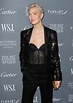 Model Karlie Kloss arrives at the WSJ. Magazine 2017 Innovator Awards at The Museum of Modern Art in New York City, on November 1, 2017.