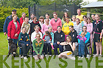 Kids from Currow having a great time at the Currow Summer Camp last Friday. Front l-r: Muireann Fleming, Mary Moynihan. Second row: David Keane, Susan O'Connor, Vicky Kelly, Sally Enright, Maggie O'Sullivan, Maura Conroy, Meadhbh O'Leary. Third row: Mireille Murphy, Ivan Galway, Aileen O'Sullivan, Ciara Galway, Maire Keane, Christina Moore, Rebecca Breen, Dearbhla Murphy, Ciara Breen, Shannon Kelly. Back row: Dan Murphy, Andrea Koning, Maura Bradley, Ciara O'Sullivan, Mairead McKeown, Syne Reed, Joel Reed, Niamh Hannafin and Flo Devane