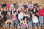 21ST BIRTHDAY: Keith O Sullivan (seated centre) from Ballybrannagh, Kielduff, Tralee celebrated his 21st birthday last Saturday night in the Austin Stacks GAA clubhouse, Connolly Park Tralee, with his parents Sylvie & Helena and many family and friends.   Copyright Kerry's Eye 2008