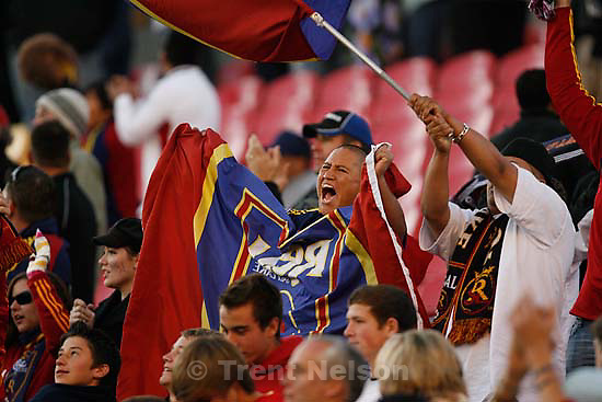 Real Salt Lake vs. Columbus Crew, MLS Soccer playoffs Saturday, October 31 2009 at Rio Tinto Stadium in Sandy. fans