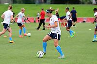 Boyds, MD - Sunday July 31, 2016: Erin Simon during a regular season National Women's Soccer League (NWSL) match between the Washington Spirit and Sky Blue FC at Maureen Hendricks Field, Maryland SoccerPlex. The Washington Spirit defeated Sky Blue FC 3-1.