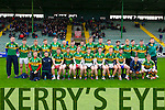 The Kerry Team who played IT Tralee in the McGrath cup at Austin Stack Park on Sunday.