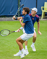 Den Bosch, Netherlands, 12 June, 2017, Tennis, Ricoh Open, Men's Doubles: Robin Haase (NED) / Dominic Inglot (GBR) (R)<br /> Photo: Henk Koster/tennisimages.com